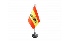 Tischflagge Fanflagge Spanien Campeones - 10 x 15 cm