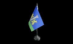 Tischflagge Frankreich Ajaccio