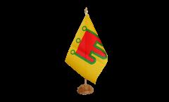 Tischflagge Frankreich Auvergne