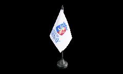 Tischflagge Frankreich Bernay