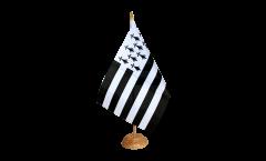 Tischflagge Frankreich Bretagne