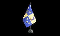 Tischflagge Frankreich Dauphiné - 10 x 15 cm
