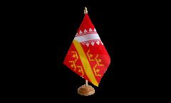 Tischflagge Frankreich Elsass