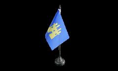 Tischflagge Frankreich Gap - 10 x 15 cm