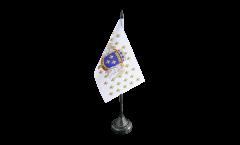 Tischflagge Frankreich Königreich 987 - 1791 - 10 x 15 cm