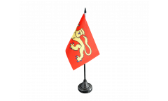 Tischflagge Frankreich Laval - 10 x 15 cm