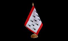 Tischflagge Frankreich Limousin