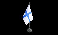 Tischflagge Frankreich Marseille