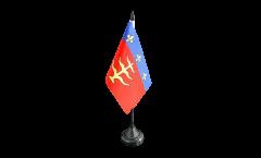Tischflagge Frankreich Montauban - 10 x 15 cm