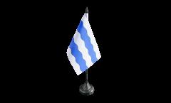 Tischflagge Frankreich Nanterre - 10 x 15 cm