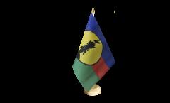 Tischflagge Frankreich Neukaledonien Kanaky