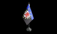 Tischflagge Frankreich Poitiers - 10 x 15 cm
