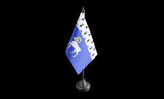 Tischflagge Frankreich Quimper