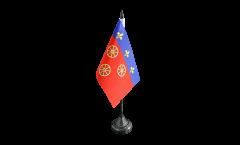 Tischflagge Frankreich Rodez - 10 x 15 cm