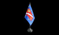 Tischflagge Frankreich Val-d'Oise