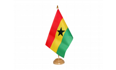 Tischflagge Ghana