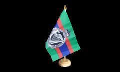 Tischflagge Großbritannien British Army Royal Irish Regiment