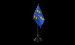 Tischflagge Großbritannien Cheshire