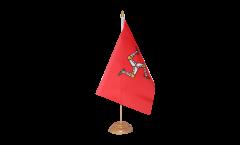 Tischflagge Großbritannien Isle of Man