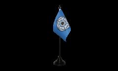 Tischflagge Großbritannien Yorkshire - 10 x 15 cm