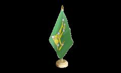 Tischflagge Irland Starry Plough grün 1916-1934
