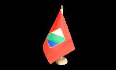 Tischflagge Italien Abruzzen