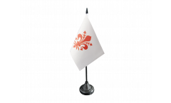 Tischflagge Italien Florenz - 10 x 15 cm