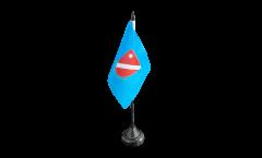 Tischflagge Italien Molise - 10 x 15 cm