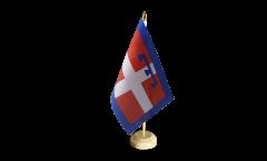 Tischflagge Italien Piemont