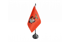 Tischflagge Italien Provinz Palermo