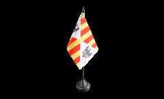 Tischflagge Italien Sizilien Königreich 1130 - 1816