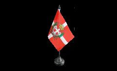 Tischflagge Italien Stadt Asti - 10 x 15 cm