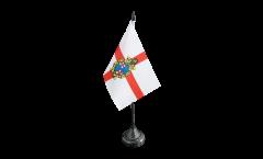Tischflagge Italien Stadt Bologna - 10 x 15 cm