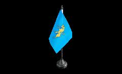 Tischflagge Italien Stadt Turin Wappen