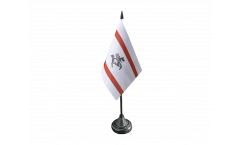 Tischflagge Italien Toskana - 10 x 15 cm