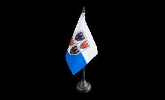 Tischflagge Italien Trentino-Südtirol - 10 x 15 cm
