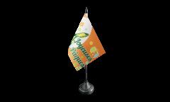 Tischflagge Joyeuses Pâques - Frohe Ostern - 10 x 15 cm
