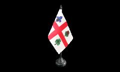 Tischflagge Kanada Montreal