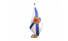 Tischflagge Kanada Neuschottland