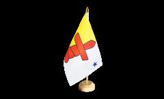 Tischflagge Kanada Nunavut