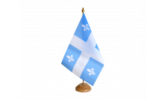 Tischflagge Kanada Quebec