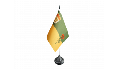 Tischflagge Kanada Saskatchewan - 10 x 15 cm