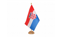 Tischflagge Kroatien