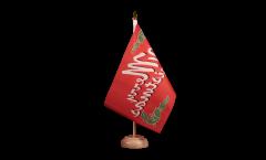 Tischflagge Merry Christmas