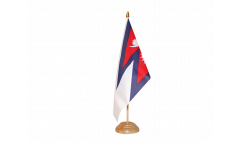 Tischflagge Nepal