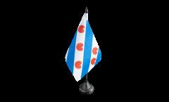Tischflagge Niederlande Friesland - 10 x 15 cm