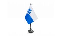 Tischflagge Niederlande Stadt Arnheim Arnhem - 10 x 15 cm