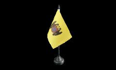 Tischflagge Peru Lima - 10 x 15 cm