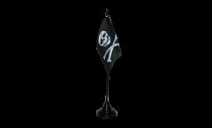 Tischflagge Pirat