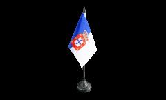 Tischflagge Portugal royal 1830-1910